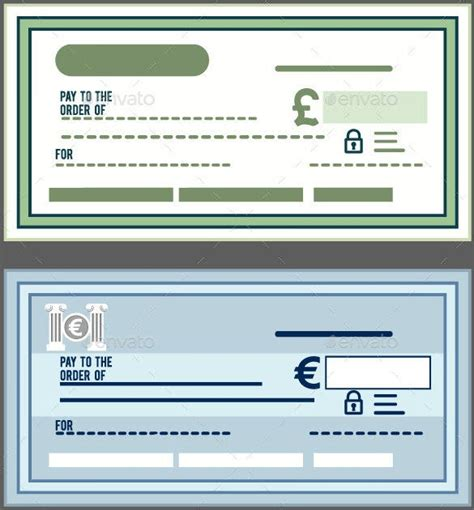 blank check template   word psd  vector