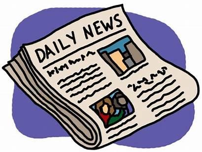 Newspaper Clip Clipart Abcteach Daily Newpaper Grayscale