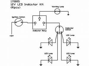 Led Indicator Kit  12v Only