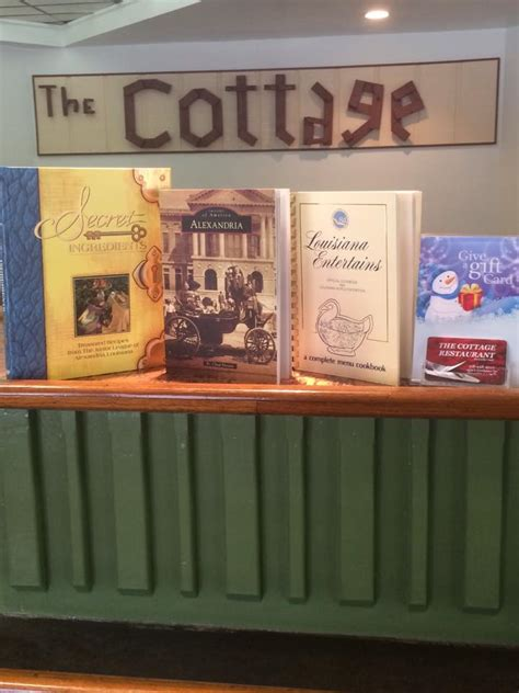 The Cottage Restaurant Menu by The Cottage Restaurant Home Alexandria Louisiana