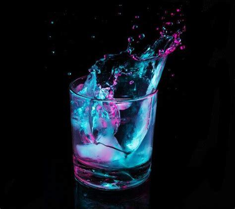 neon cocktail splash photography neon colors photography