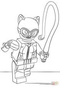 lego catwoman coloring page  printable coloring pages