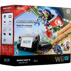 Mario Kart Wii U : nintendo wii u mario kart 8 deluxe bundle black wupskagp b h ~ Maxctalentgroup.com Avis de Voitures