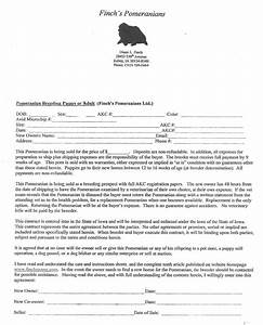 puppy contract puppy contract page 1 page 2 ingebar pet With dog breeding contract template