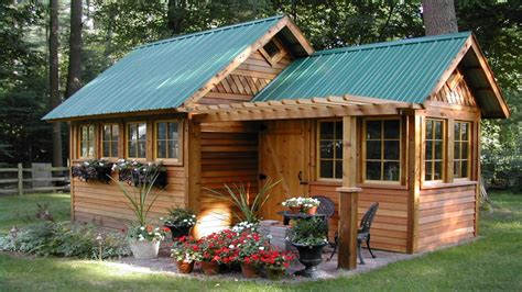 backyard storage shed designs garden shed guest house