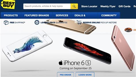 where to buy iphone 6s best buy iphone 6s pre orders available in for