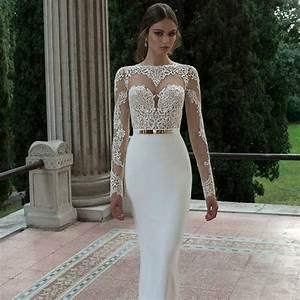 aliexpresscom buy 2016 elegant sexy white mermaid With sexy white wedding dresses