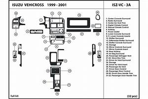 Dl Auto U2122 Isuzu Vehicross 1999