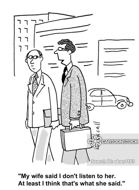Communication Problem Cartoons And Comics Funny Pictures From CartoonStock