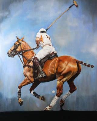 chisholm gallery brett brittany polo art sporting