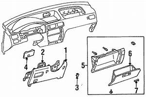 Toyota Tercel Cover  Fuse Box Open  Obs  Lower  Trim