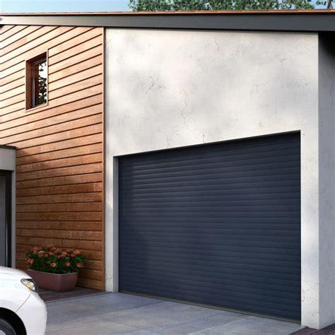 porte de garage enroulable aluminium sur mesure isolation id 233 es