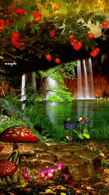 Beautiful Animated Mobile Wallpapers - 35 gif images of nature beautiful gif images animated