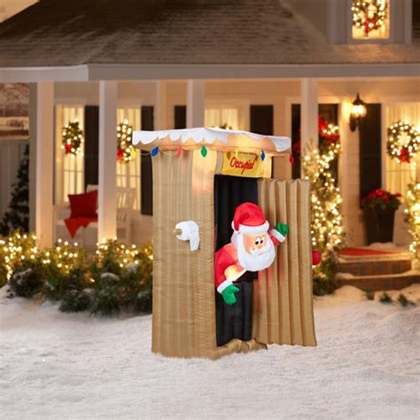 6 tall animated airblown christmas inflatable santa