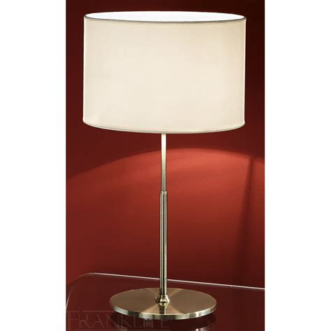 white table l shade franklite tl874 9896 bronze table l with off white drum