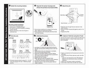 Dt 7450c Du Al Tec Motion Sensor Installation