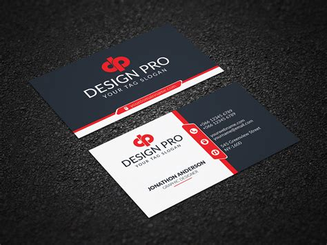 business card    behance