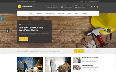 Company Onepage Website Templates 2016 by 46 Best Construction Company Themes 2018 Colorlib