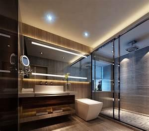 Contemporary bathroom design download 3d house for Modern bathroom design