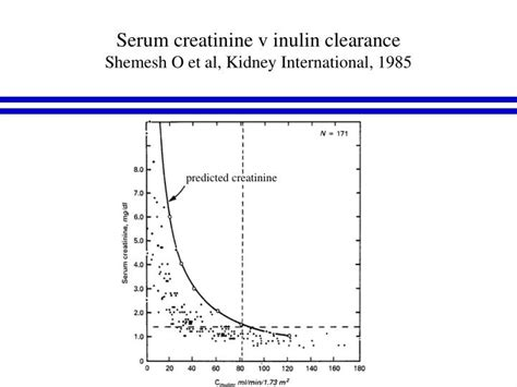 ppt plasma creatinine and the estimation of glomerular filtration rate gfr powerpoint