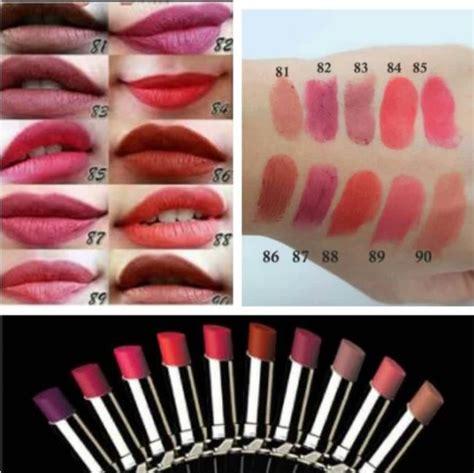 Harga Lipstik Matte Merk Purbasari 7 warna lipstik purbasari matte terlaris daftar harga
