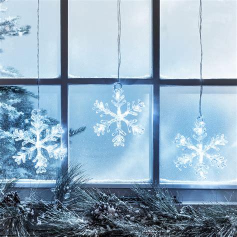 stockholm snowflake christmas window light lights4fun co uk