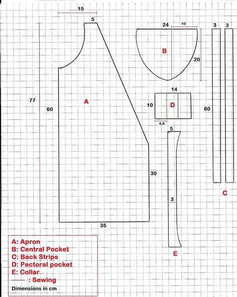 diy woodworking apron pattern  woodworkers