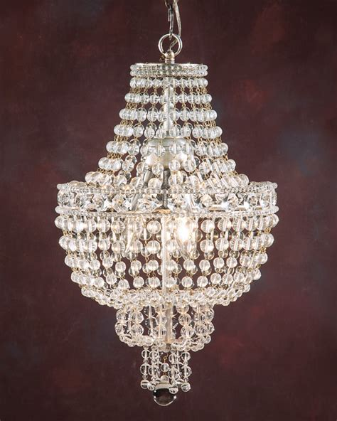 chandelier and small chandelier