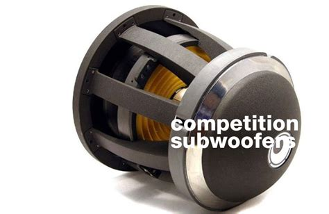 Best Subwoofer The Best Competition Subwoofers 2018 Updated