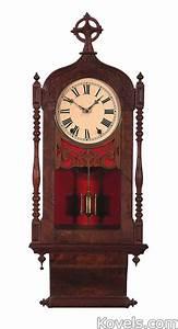 Antique clocks silver pewter brass copper chrome for Seth thomas wall clocks value