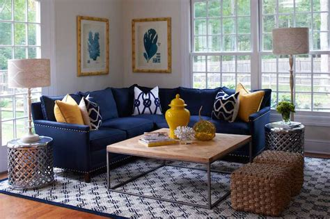 blue table ls for living room navy blue sectional sofa design options homesfeed