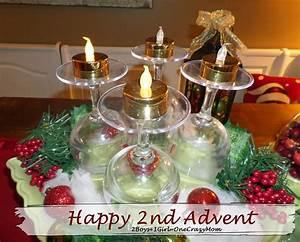 Happy 1 Advent : happy 2nd advent 2 boys 1 girl one crazy mom ~ Haus.voiturepedia.club Haus und Dekorationen