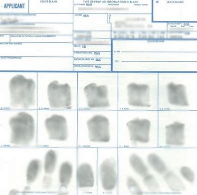 Fbi Fingerprint Background Check How To Obtain Your Fbi Identity History Summary Check For