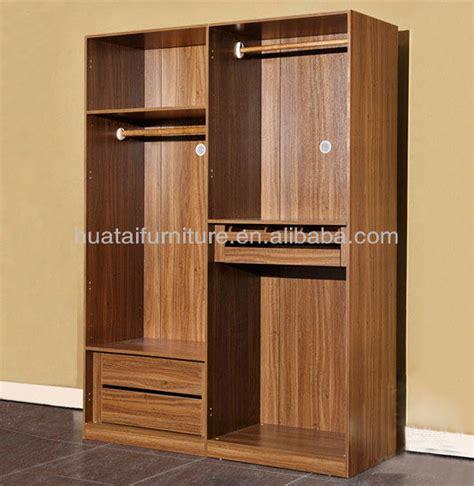 2 Door Hotel Sliding Wardrobes Furniture 2 Door Solid Wood