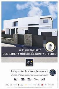Porte De Garage Motorisée Somfy : eurostores volets fen tres stores portails et portes ~ Edinachiropracticcenter.com Idées de Décoration