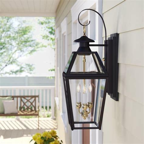Sol 72 Outdoor Estevan 3 Light Outdoor Wall Lantern