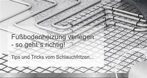 Fußbodenheizung Nachträglich Verlegen : fu bodenheizung verlegen anleitung f r heimwerker ~ Sanjose-hotels-ca.com Haus und Dekorationen
