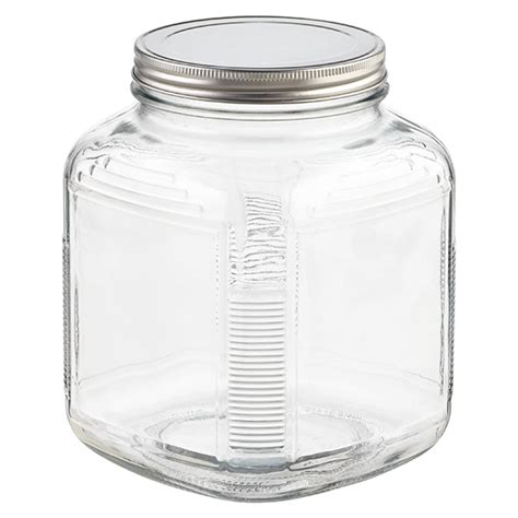 large glass jars with lids glass jars with lids anchor hocking glass cracker jars 8888