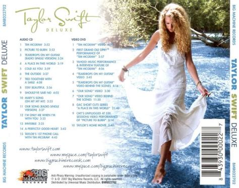 taylor swift deluxe edition taylor swift release