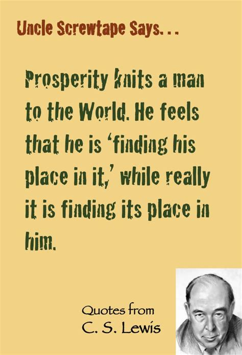 screwtape letters quotes c s lewis quote screwtape on prosperity and worldliness 12032