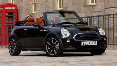 Mini Cooper Convertible 4k Wallpapers by 2007 Mini Cooper S Convertible Sidewalk Uk Wallpapers