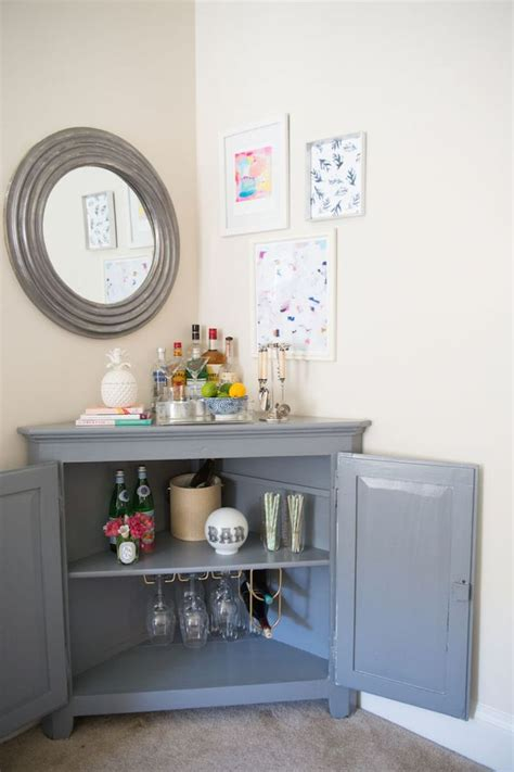 Living Room Corner Cabinet Ideas by Best 25 Corner Bar Ideas On Coffee Corner