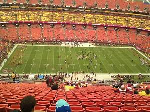 Fedex Field  Section 402  Home Of Washington Redskins