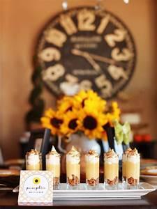 Make An Invitation Sunflower Themed Thanksgiving Dessert Buffet Hgtv