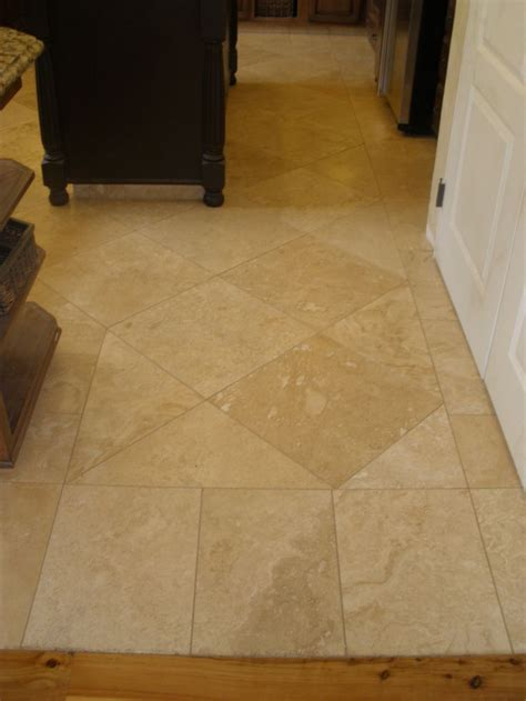 "18""x18"" Travertine set with a 1/16"" grout joint. http"