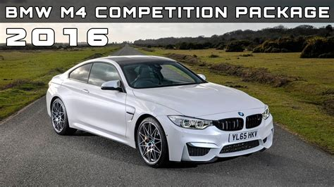 2016 Bmw M4 Competition Package Review Rendered Price