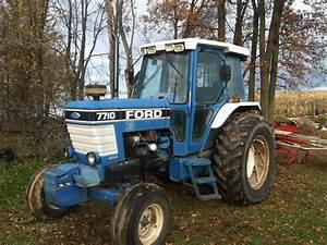 Ford 7710 Ii Tractors - Row Crop   100hp