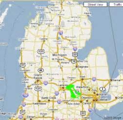 Ann Arbor Michigan Map