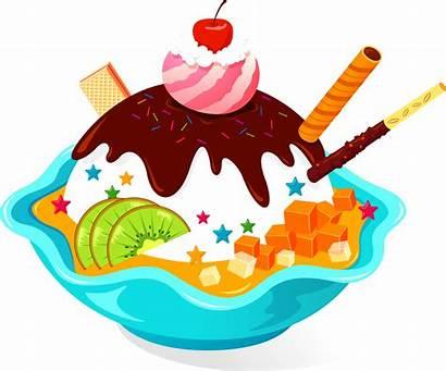 Ice Cream Cake Clipart Sundae Cartoon Cone