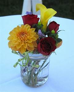 simple flower arrangements | Colors - Orange and yellow ...